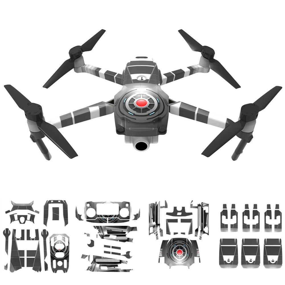 Label Waterproof Skin Aufkleber für DJI Mavic 2 Pro Zoom RC Drone Body