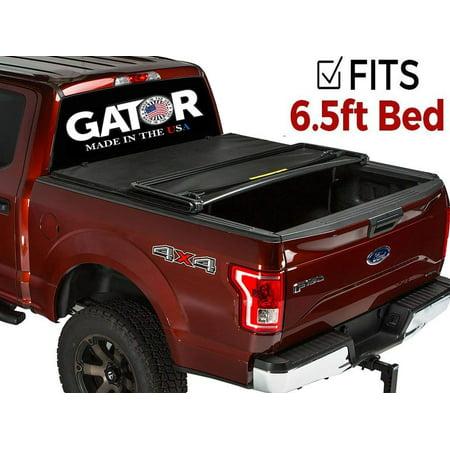 Gator ETX Tri-Fold (fits) 2008-2013 Chevy Silverado GMC Sierra 6.5 FT Bed Only Tonneau Truck Bed Cover Made in the USA 59102