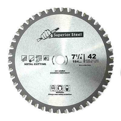 Ferrous Metal Cutting Blade (7 1/4