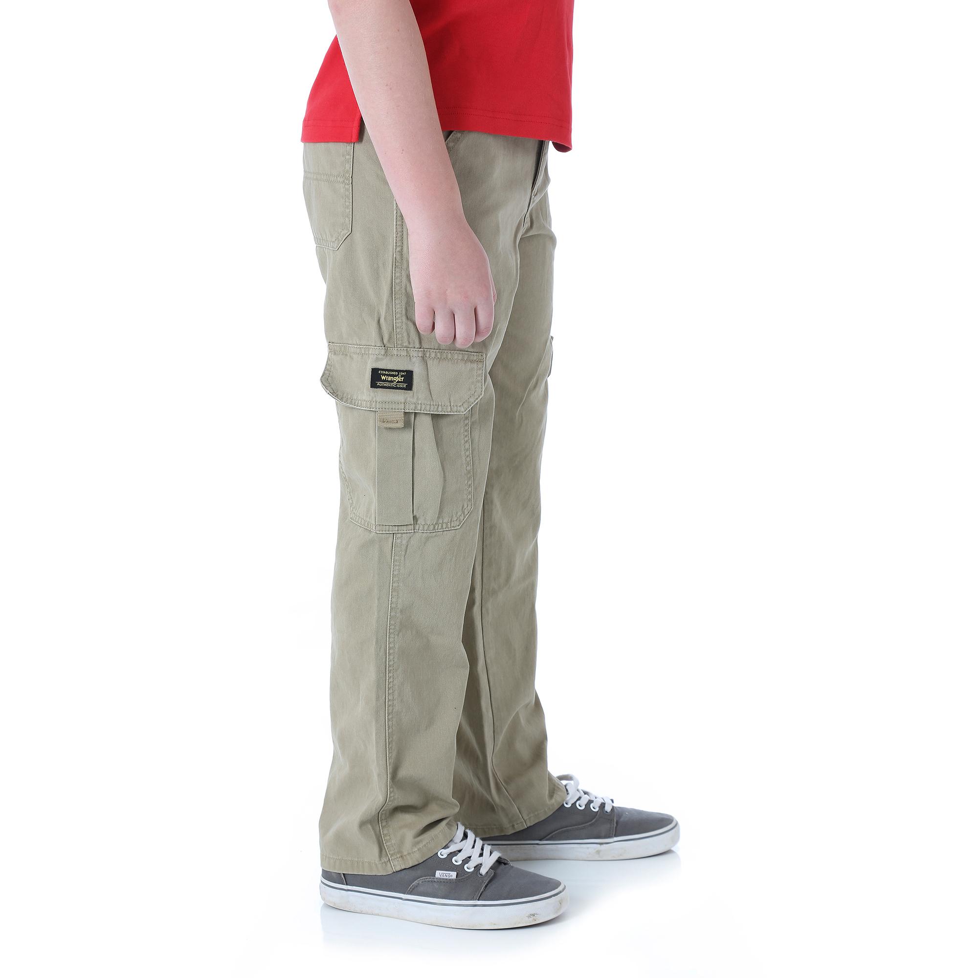 Wrangler Boys' Slim Classic Cargo Pant - Walmart.com