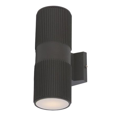 Maxim 6126ABZ 12 x 4.25 in. Lightray 2-LIght Wall Sconce, Architectural Bronze - image 1 of 1