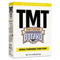 TMT Powdered Hand Soap, Unscented Powder, 5lb Box