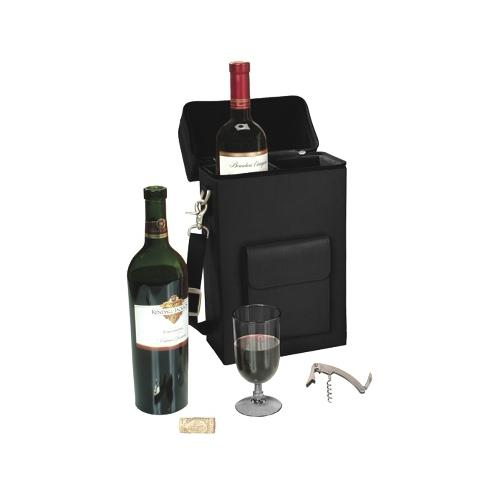 Royce Leather Connoisseur Wine Carrier RYC620BLACK8