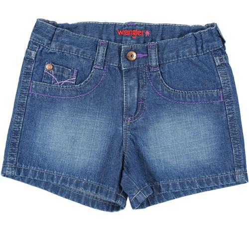 Wrangler Infant Girl Faye 5-pocket Short