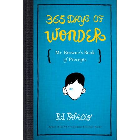 365 Days of Wonder: Mr. Browne's Book of Precepts (Hardcover)