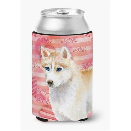 Siberian Husky Love Can or Bottle Hugger - image 1 de 1