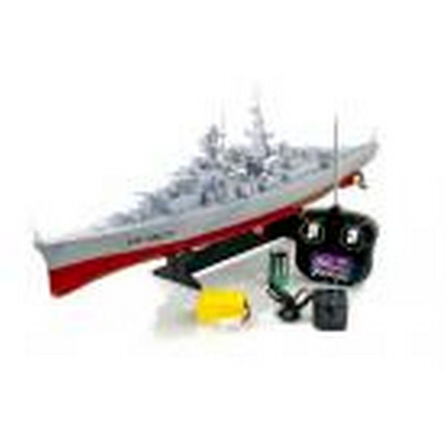 "28"" Large R C Radio Control Military Battleship Warship (Grey Deck) by"