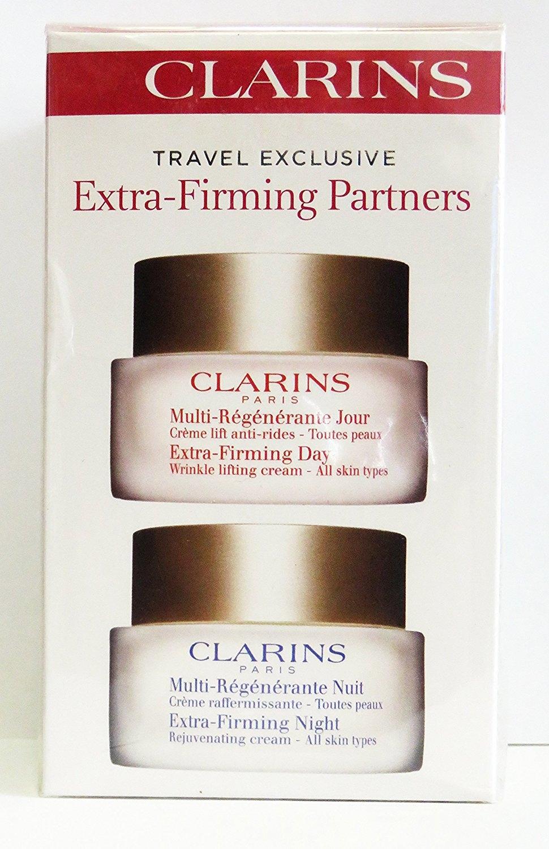 Clarins Extra Firming Partners Day Cream 50ml Night 15ml 2pcs