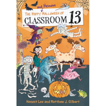 The Happy and Heinous Halloween of Classroom - Happy Halloween Blunt Cards