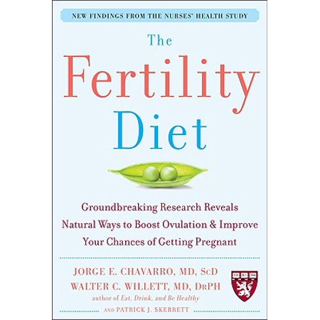 The Fertility Diet: Groundbreaking Research Reveals Natural Ways to Boost Ovulation and Improve Your Chances of Getting (Best Ovulation App To Get Pregnant)