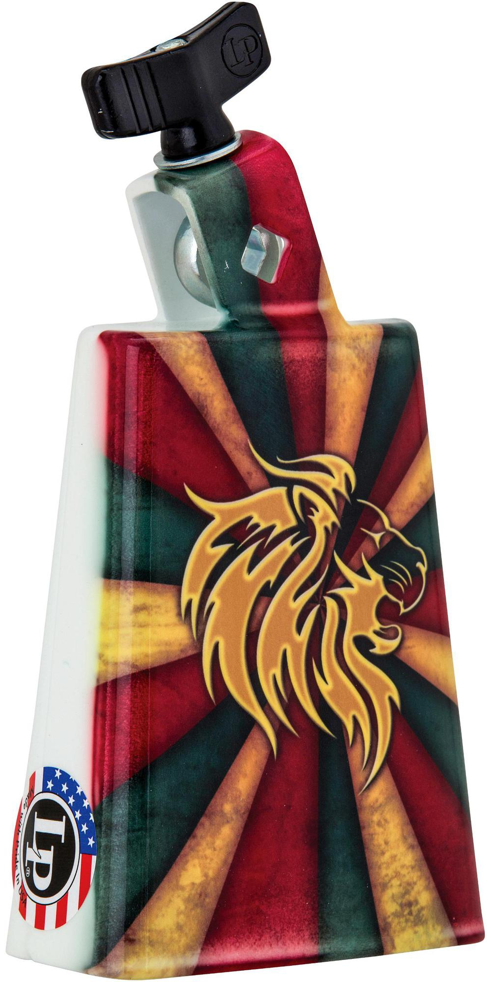 LP Collectabells Rasta Burst Cowbell 5 in. by LP