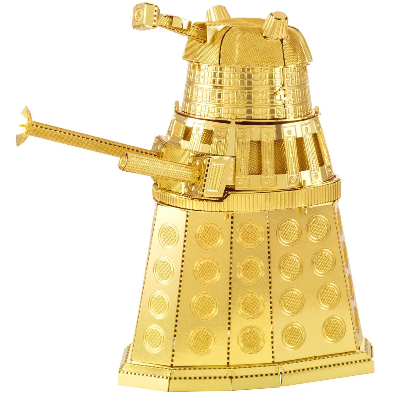 Metal Earth 3D Laser-Cut Model, Doctor Who Gold Dalek