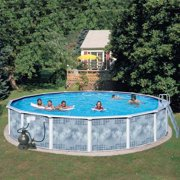 "Heritage Round 15' x 52"" Above Ground Swimming Pool"