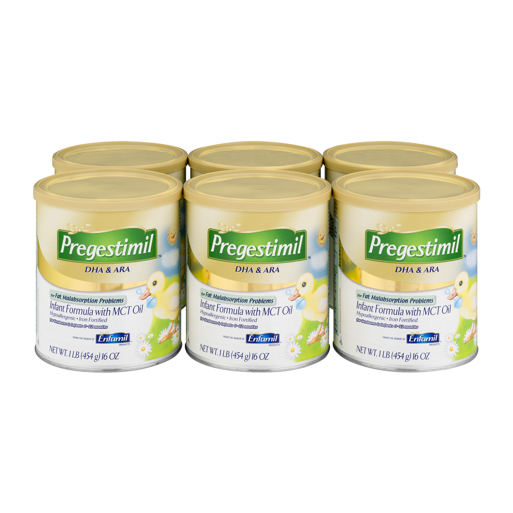 Pregestimil DHA & ARA Infant Formula 6 CT by Enfamil