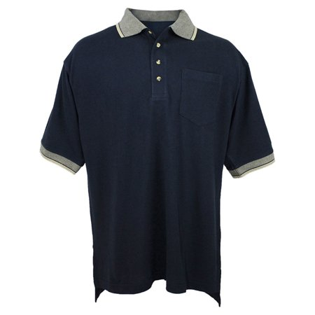 Tri-Mountain Men's Big And Tall Pique Knit Polo (Tall Pique Polo)