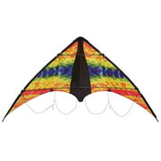 In the Breeze Groovy Stunter Stunt Kite - 2-Line Sport Kite - Includes Kite Line and Bag
