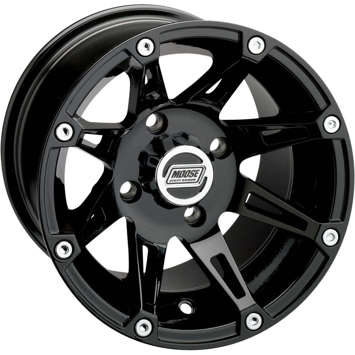 Moose Racing 387X Wheel (Front) 12X7 Black Fits 02-03 Kawasaki KVF650 PRAIRIE