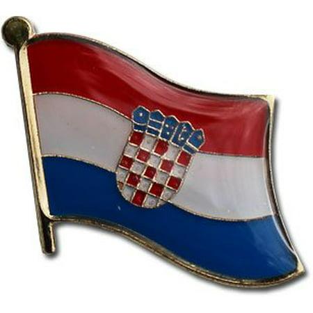 Croatia Flag Lapel Pin (Croatia Pin)