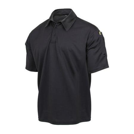 Rothco Tactical Performance Polo Shirt, Black (5.11 Tactical Performance Polo)
