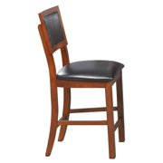 Winners Only Franklin Counter Height Cushion Back Bar Stool - Set of 2