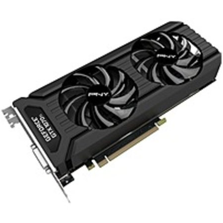 Refurbished PNY GeForce GTX 1070 Ti Graphic Card - 1.61 GHz Core - 1.68 GHz Boost Clock - 8 GB GDDR5 - Dual Slot Space Required - 256 bit Bus - Black Ice Gtx