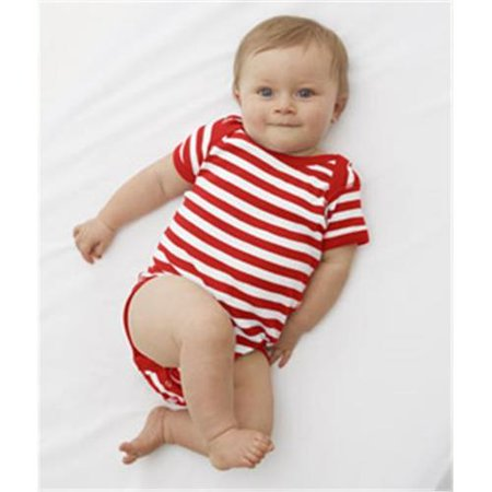 Rabbit Skins Infant Baby Rib Lap Shoulder - Skin Bodysuit