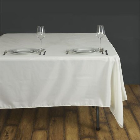 Balsacircle 90 Quot X 90 Quot Square Polyester Tablecloth Table