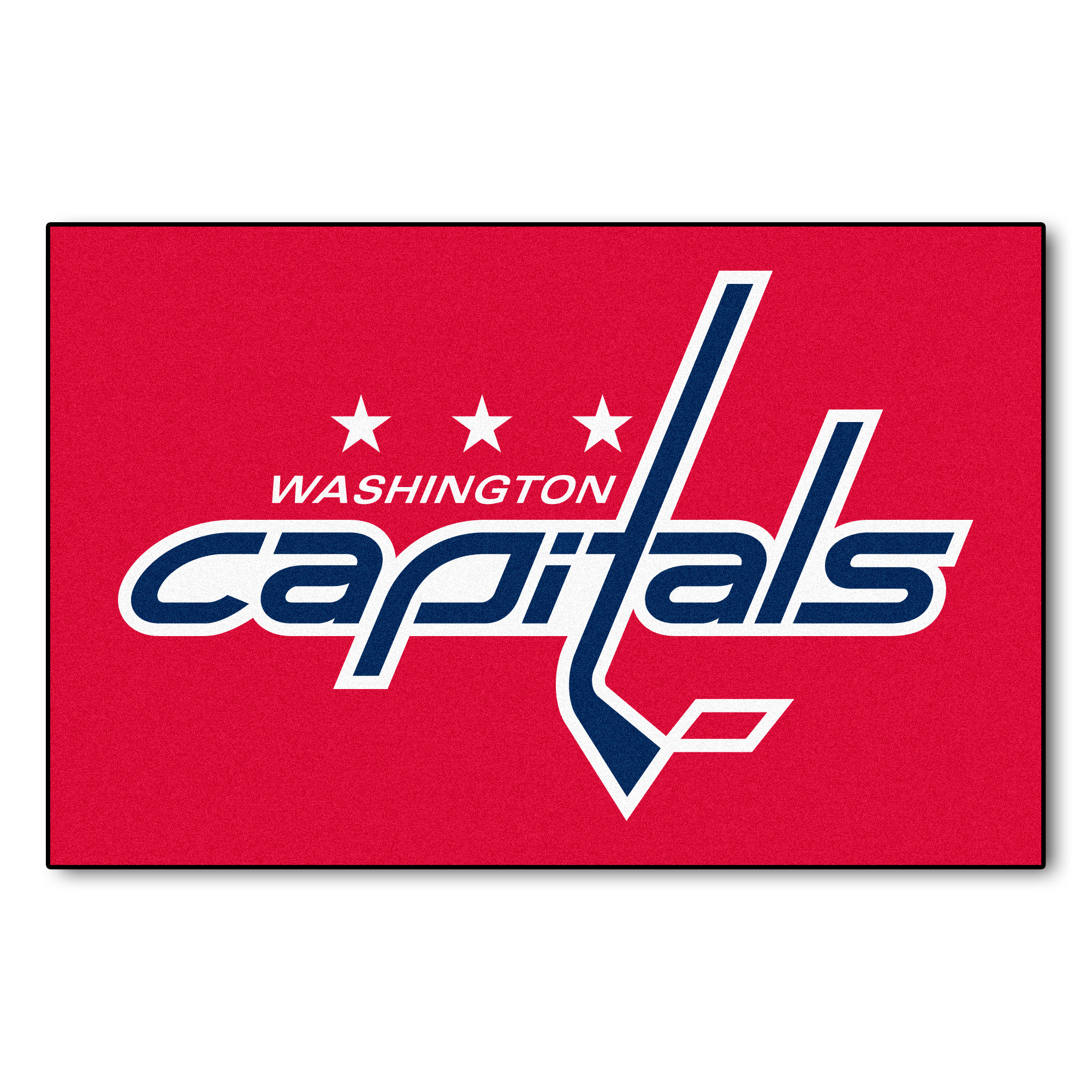NHL Washington Capitals Starter Mat Rectangular Area Rug