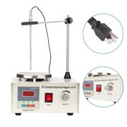 Ktaxon Magnetic Stirrer Hot / Heat Plate Digital Thermostatic Display Mixer Heating Control Low Noise for Laboratory, 110V 50HZ