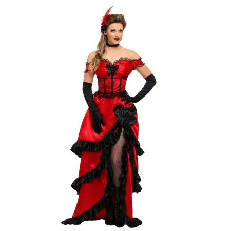 Adult Saloon Girl Costume - Adult Saloon Girl Costume