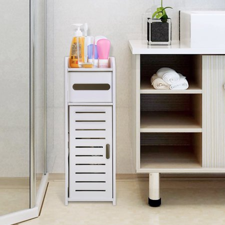 Ejoyous Waterproof Bathroom Cabinets Furniture for Living Room Bedroom Kitchen Hallway Bathroom , Toilet Cabinet, Bathroom Storage