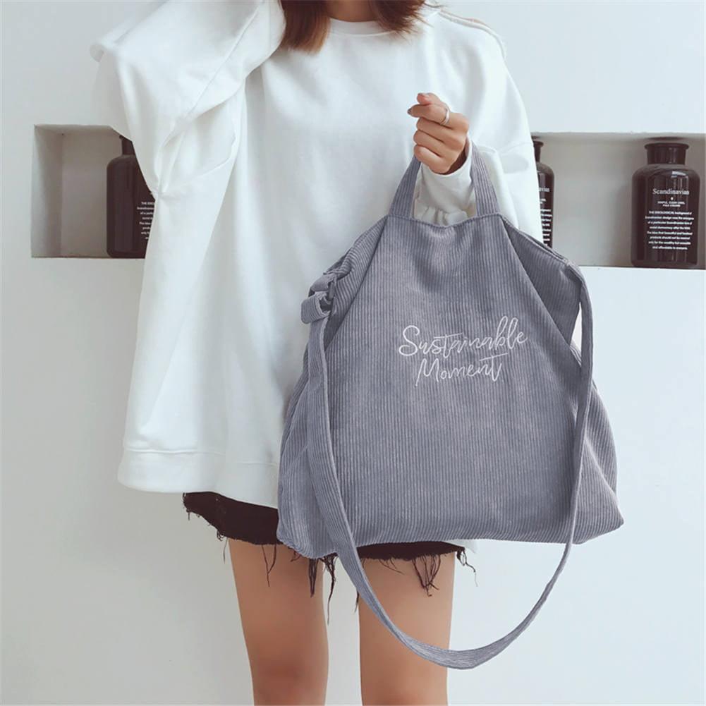 Details about  /Women Shoulder Bag Fashion Canvas Vintage Big Tote Ladies Beach Shopping Handbag