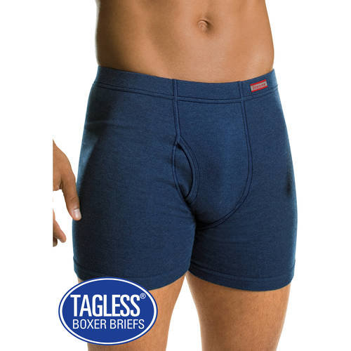 Hanes Men's 5 Pack Comfort Soft Waistband Boxer Brief, 2 Pack
