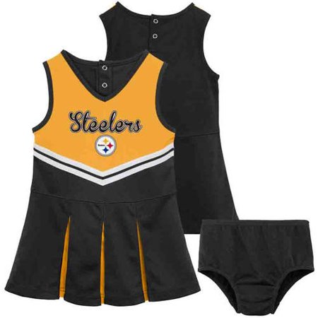 NFL Pittsburgh Steelers Girls Cheerleader Set by