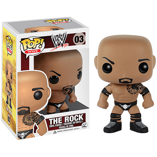 Funko WWE The Rock Pop Vinyl Figure