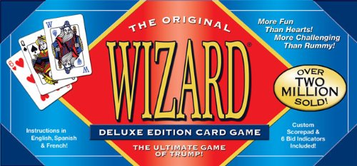 Wizard Card Game Deluxe, USA, Brand US Games by