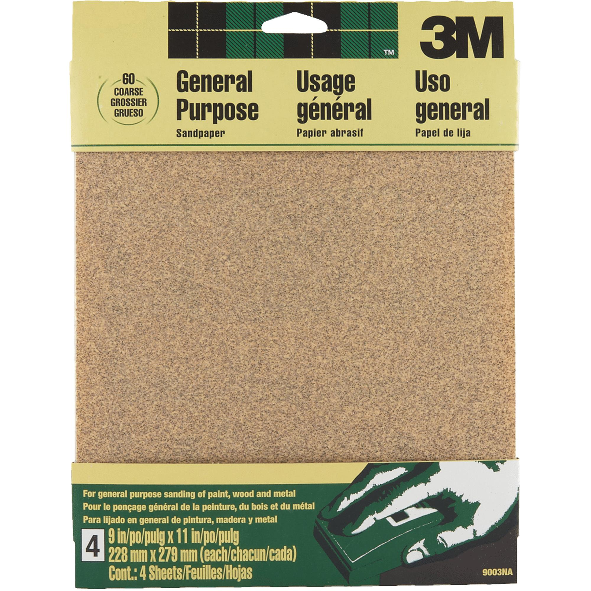 3M General Purpose Sandpaper