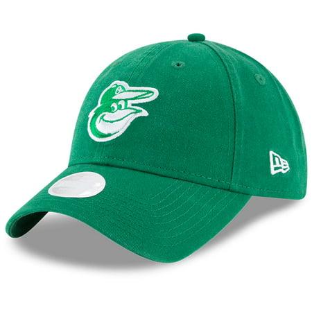 Baltimore Orioles New Era Women's Core Classic Twill St. Patrick's Day 9TWENTY Adjustable Hat - Green - OSFA](Baltimore Ravens Hats)