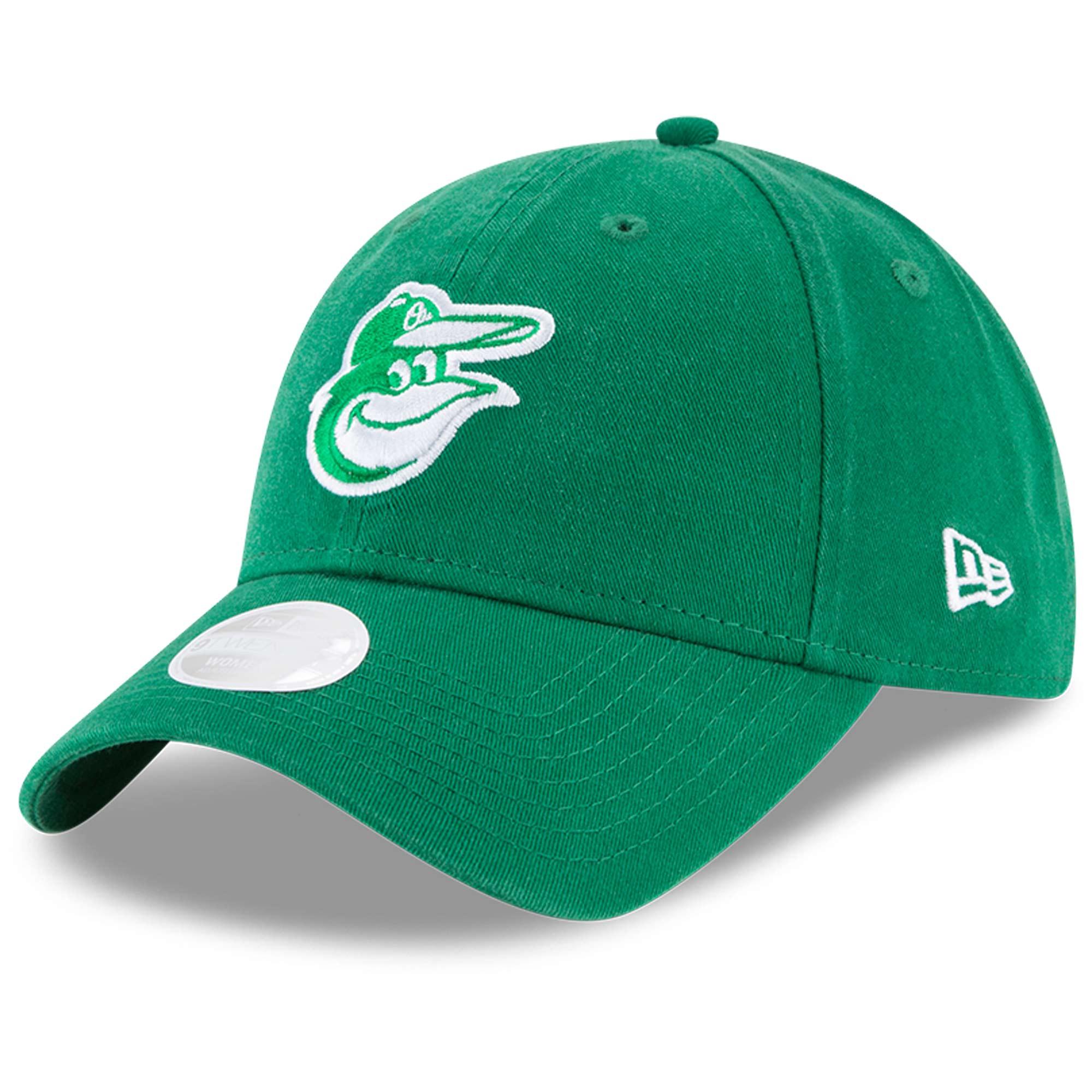 Baltimore Orioles New Era Women's Core Classic Twill St. Patrick's Day 9TWENTY Adjustable Hat - Green - OSFA