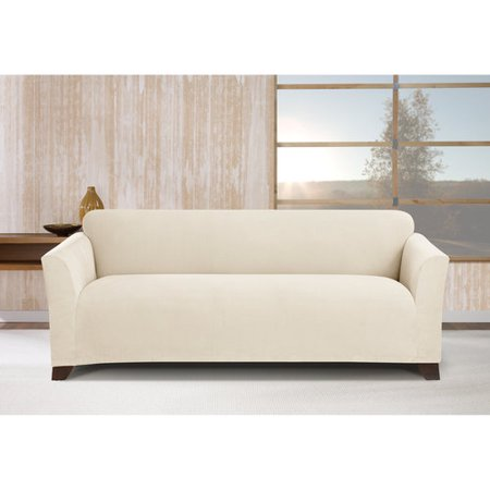 Aneil Sofa Bed Cover Futon Slipcover Solid Color Full Folding Elastic Armless 80 x 50 in (Gray)