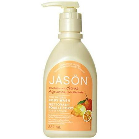Jason Natural Products 0576181 Satin Shower Body Wash Citrus, 30 fl -