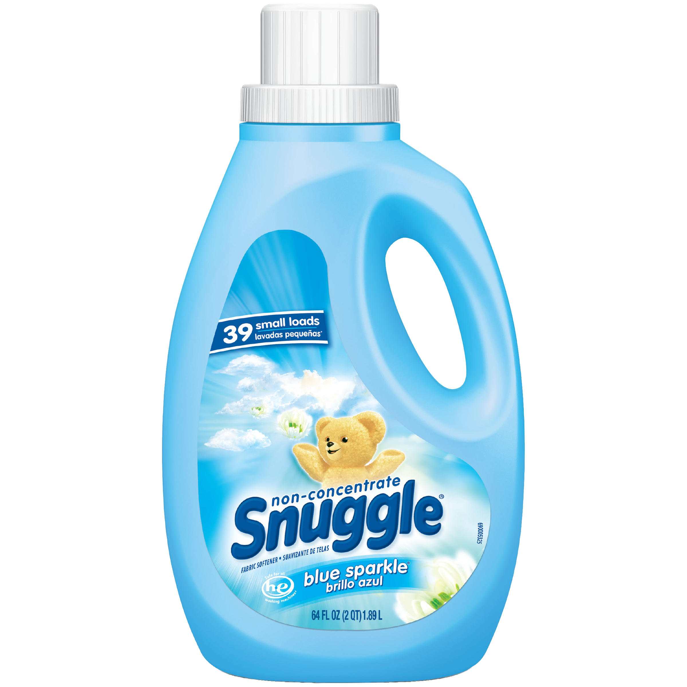 Snuggle Liquid Fabric Softener, Blue Sparkle, 64 Oz
