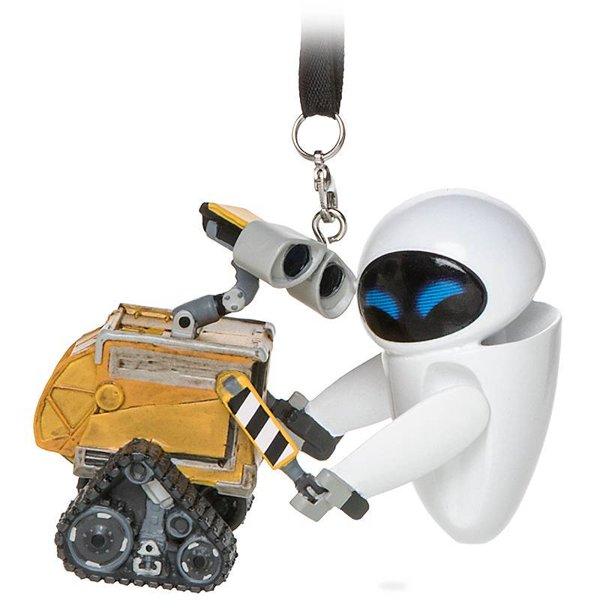 Disney Parks WALL•E and E.V.E. Christmas Ornament New with ...
