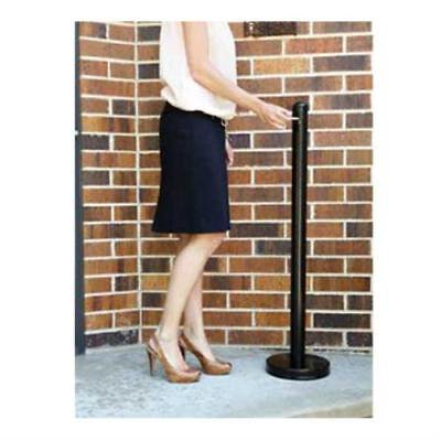 American Metalcraft SPRV2 Securit Smoker Pole,free standing, outdoor use only - Floor Standing Smoker