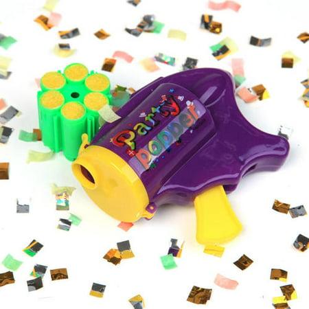 Party popper with 6 Shots, 1 Randomized Color Per Pack - image 4 de 6