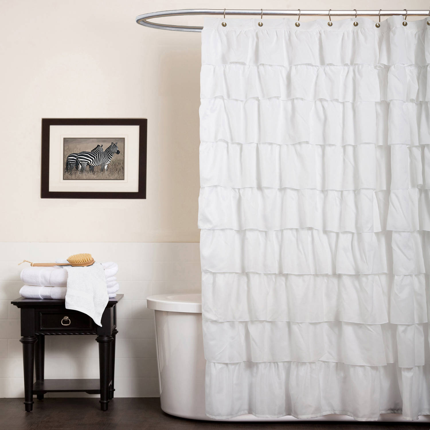 Ruffle Shower Curtain by Generic