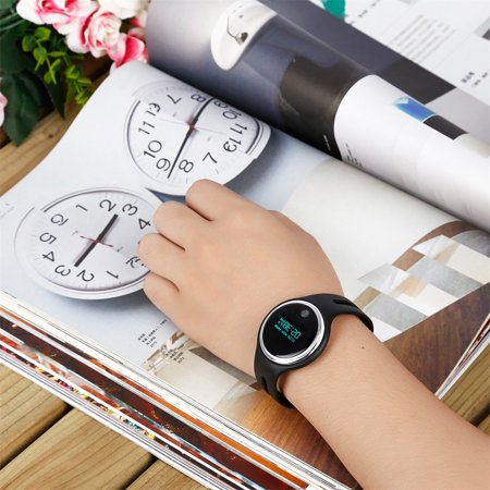 Waterproof Bluetooth 4 0 Oled Display Smart Wristband With Pedometer Watch