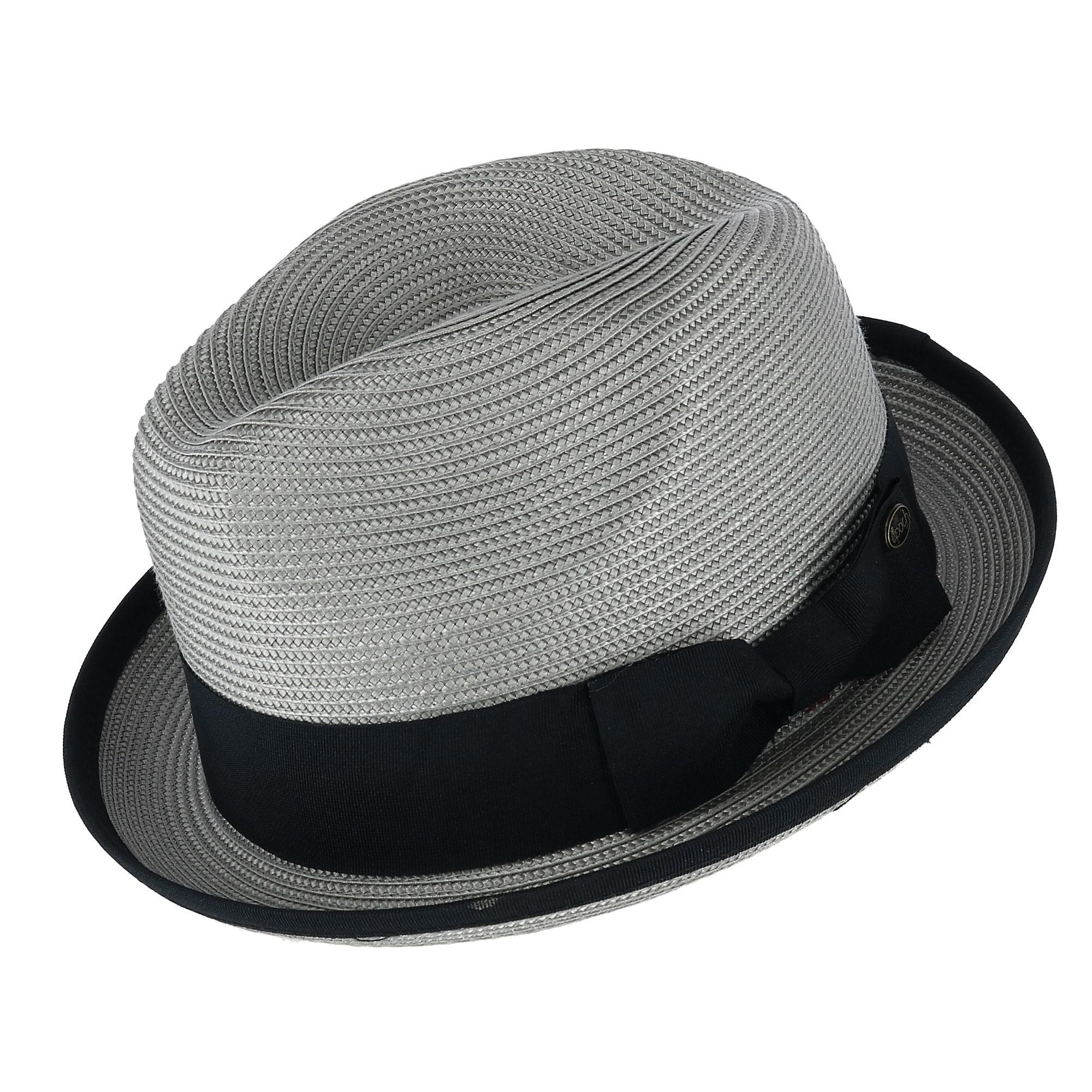 a0b835348 Epoch Hats Company Men's Fedora with Contrast Band and Trim ...
