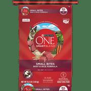 Purina One SmartBlend Small Bites Beef & Rice Formula