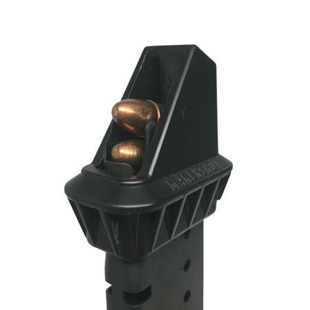 - makershot custom .40 cal pistol magazine speed loader (sig sauer p239) ; speedloader ; magazine loader